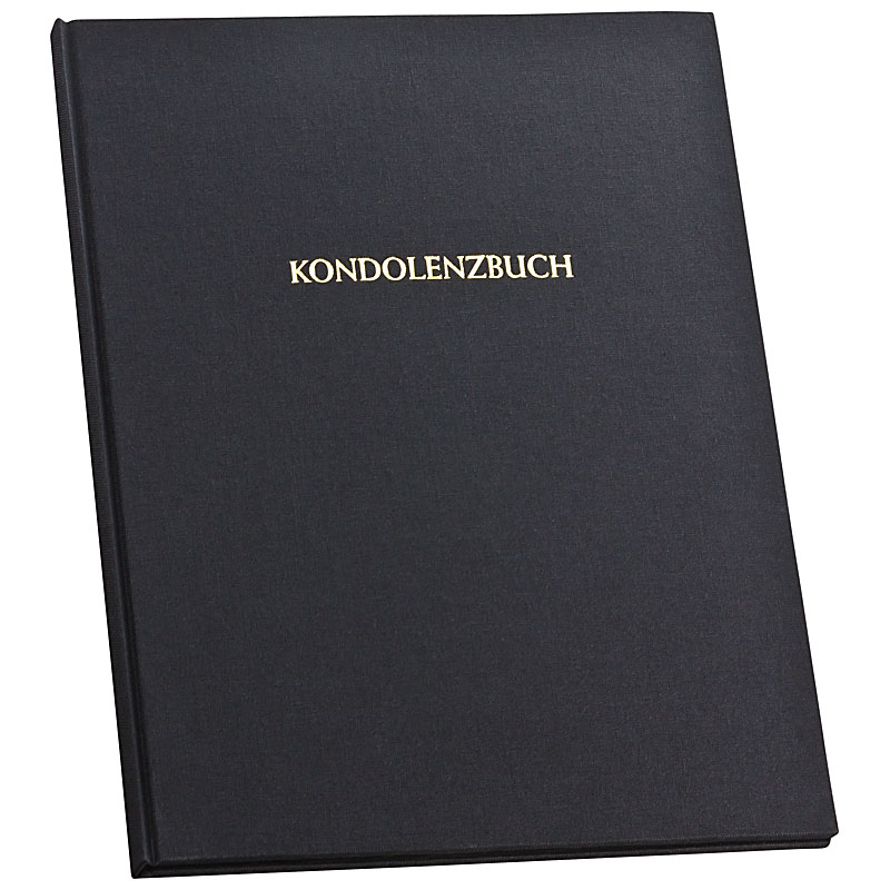 Götting-Online.de - Kondolenzbuch aus Leinen, gebunden, 12 Seiten ...