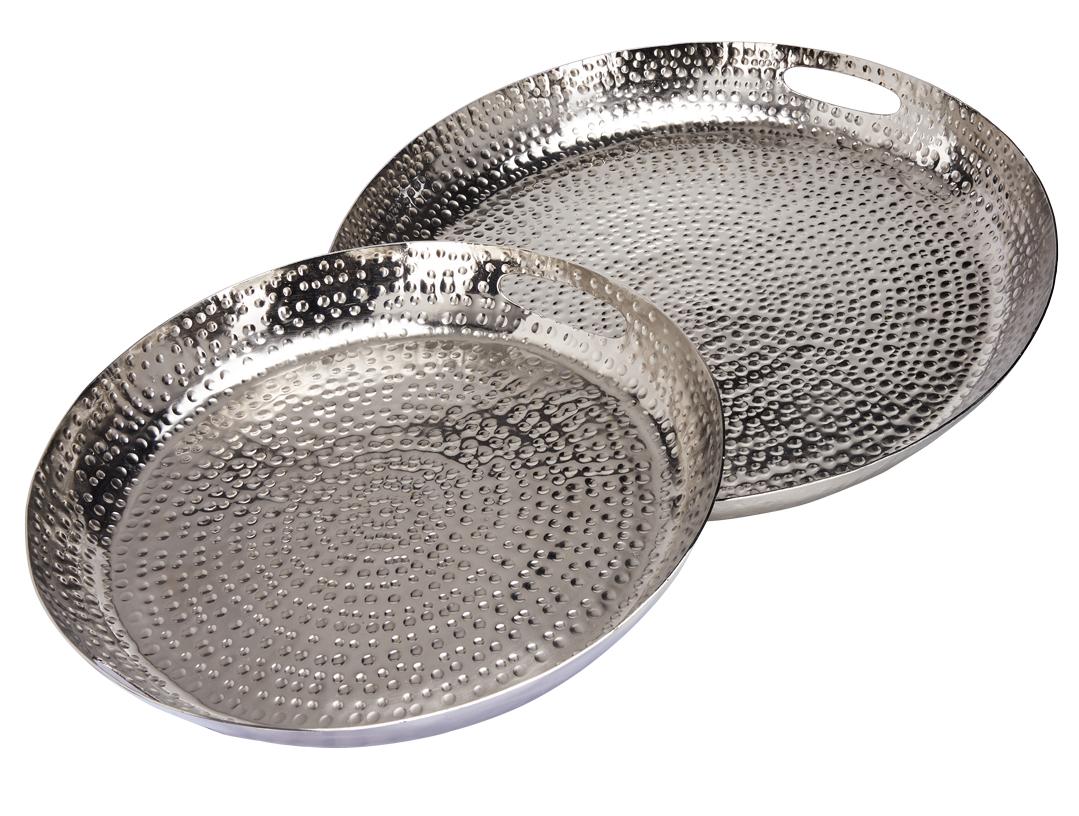 Götting Online De Deko Tablett Aluminium Silber